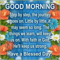 Good morning. Have a Blessed Wednesday.
