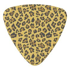 Animal Print Triangle Guitar Pick On Sale