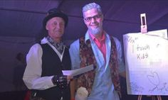 Just when you thought people couldn't get any stupider Ta Da !! Prankster wins prize at fancy dress contest as paedophile Rolf Harris