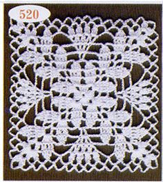 How to Crochet a Solid Granny Square Vintage Crochet Patterns, Granny Square Crochet Pattern, Crochet Blocks, Crochet Squares, Crochet Motif, Lace Doilies, Crochet Doilies, Crochet Flowers, Crochet Lace