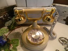 Vintage Western Electric Celebrity French Style Rotary Phone by allthatsvintage56 on Etsy