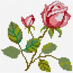 Cross Stitch | Flower xstitch Chart | Design