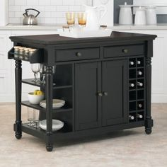 Home Styles Grand Torino Kitchen Island - Kitchen Islands and Carts at Hayneedle