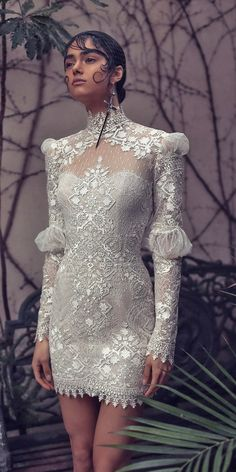 39 Vintage Inspired Wedding Dresses ❤ vintage inspired wedding dresses high neck with long sleeves lace kimkassascouture #weddingforward #wedding #bride Dresses With Sleeves, Vintage Inspired Wedding Dresses, Life Is Short, Bridal Gowns, Wedding Gowns, Formal Dresses, Wedding Inspiration, Long Sleeve, Vintage Romance