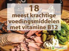 9 duidelijke signalen die kunnen duiden op een vitamine B12 tekort, samen met de…