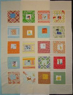 Sparks Baby Quilt tutorial by Alissa Haight-Carlton from Handmade by Alissa. This is such a modern baby quilt!