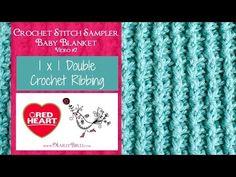 1x1 Double Crochet R