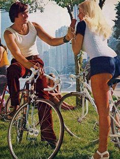 Icecream in the park, 1970s style.