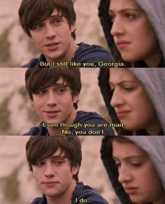 Angus thongs and perfect snogging is the best movie ever Tv Quotes, Movie Quotes, Movies Showing, Movies And Tv Shows, Love Movie, Movie Tv, Angus Thongs And Perfect Snogging, Aaron Johnson, Movie Lines