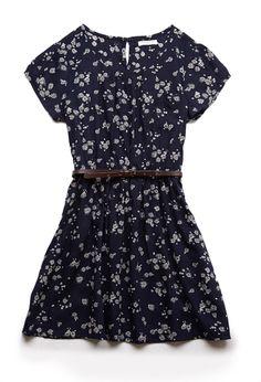 Floral Print Pocket Dress (Kids) | FOREVER21 #F21Girls
