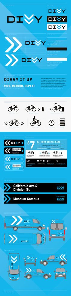 Divvy – Chicago's Bikeshare on Behance
