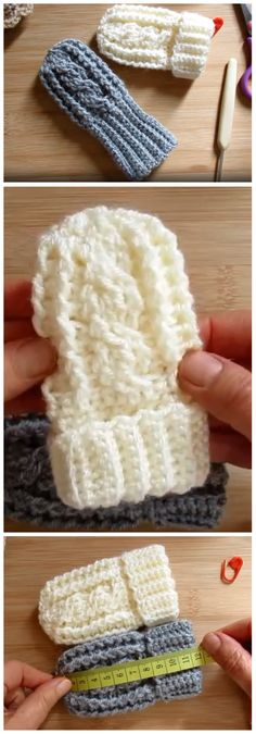 Crochet Baby Mittens Gloves