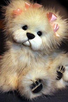 5.5 Inch Sable Mink Bear by Kimbearlys Originals