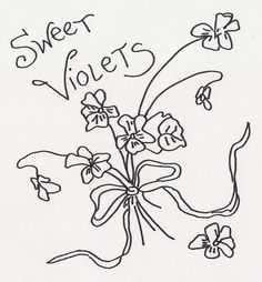 SWEET VIOLETS by jeninemd, via Flickr