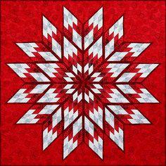 Prismatic Star, Quiltworx.com, Made by Quiltworx.com