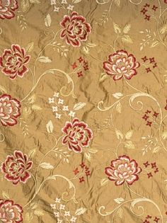 Product ID:  FbC 3546302 Manufacturer:  Fabricut Fabrics Available Colors:  Width:  52 in Content:  100% Silk 100% Rayon Embroidery Horizontal Repeat:  25.5 in Vertical Repeat:  15.7 in Usage:  Bedding, Drapery