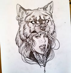 Design snatched up by a client already! Piece by Heather Bradley. #tattoo…