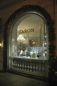 The Caron shop in Paris