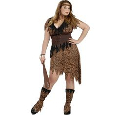 Become a cave women this Halloween as the Cave Beauty. The Cave Beauty Costume includes a brown leopard print dress with tattered hem. The matching corset belt, headband and boot tops complete Girl Costumes, Adult Costumes, Costumes For Women, Costume Ideas, Caveman Halloween Costume, Halloween Costumes, Halloween Ideas, Halloween Forum, Spirit Halloween
