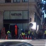 Katsuya on the corner of Hollywood and Vine.