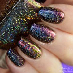 Fun Lacquer Eternal Love (H) Swatch by simplynailogical How To Do Nails, Fun Nails, Pretty Nails, Fun Lacquer, Crazy Nail Art, Gel Nail Art Designs, Nail Polish Colors, Nail Polishes, Nailart