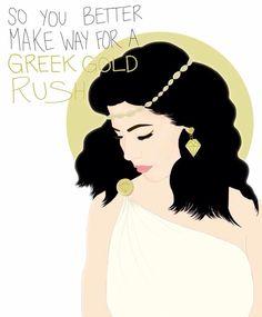 GOLD Marina and the diamonds