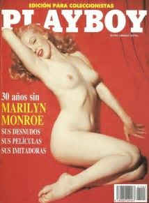 Image result for Marilyn Monroe Playboy