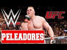 LUCHADORES DE WWE QUE PELEARON EN UFC