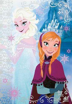 #Frozen dos princesas un reino