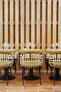 Les plus beaux restaurants deco a Paris : Eugène Eugène par Studio KO Restaurant Design, Deco Restaurant, Luxury Restaurant, Restaurant Lighting, Restaurant Ideas, French Restaurants, Paris Restaurants, Commercial Design, Commercial Interiors