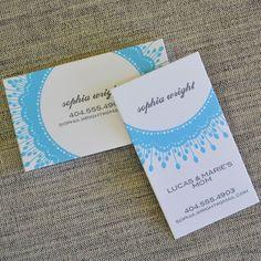 under twenty-five,  Calling Cards by Avie Designs,  made in Georgia