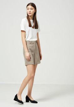 Selected Femme Shorts - roasted cashew - Zalando.de