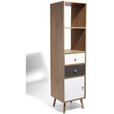 Tag re biblioth que de rangement compo la redoute interieurs la redoute s - Colonne metallique rangement ...