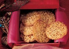 Orange-Almond Lace Cookies - Bon Appétit