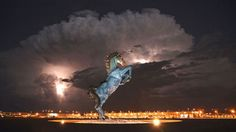 Having recently been stranded in Denver Airport for 24 hours, I can tell you anecdotally that the place is hellish. Exit arrows point at each other instead of outside; corridors lead to nowhere; and security checkpoints seem to disappear mysteriously as you approach them. As you drive into the airport, you're greeted by a giant horse with glowing red eyes, and one of the terminals is decorated with a massive statue of Anubis, the ancient Egyptian god of death.