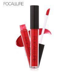 Beauty Girl Hot FOCALLURE New Fashion Lipstick Cosmetics Women Sexy Lips  Matte Lip Gloss Party Nov 1