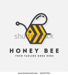 Bee Logo Stock Photos, Images, & Pictures | Shutterstock