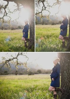what to wear for maternity. I like this form fitting deep colored dress.