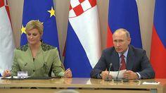 Vladimir Putin & Kolinda Grabar Kitarovic' Statements