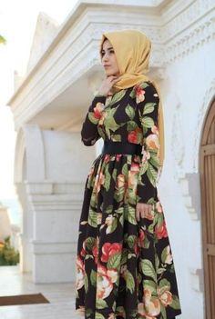 3928afb14f808 48 Best Turkish hijab dress images