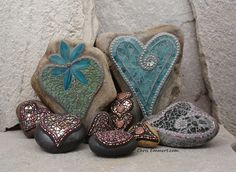 Mosaic Hearts by Chris Emmert