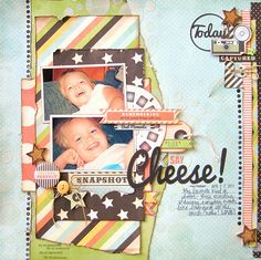 Say Cheese!  (My Scraps and More) - Scrapbook.com