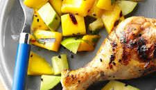 Grilled Mango With J