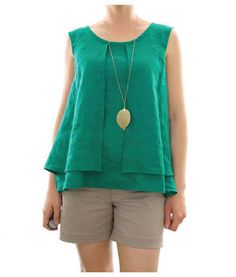 Image result for linen top designs sewing