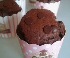 Muffin vivilight al triplo cioccolato