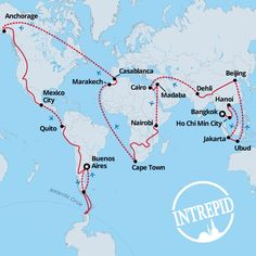 Intrepid Travel's 365-day trip will take you to 34 countries for $75,000
