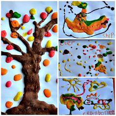 fall tree art project - Blog Me Mom