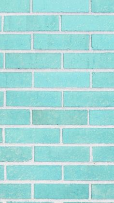 Tiffany blue brick iPhone wallpaper <3