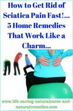 Want to cure that sciatica nerve pain & lower back pain for good? Here's the top 5 relief remedies & exercise treatments you definitely must consider. Sciatica Pain Relief, Sciatica Exercises, Sciatic Pain, Arthritis Pain Relief, Chronic Sciatica, Sciatic Nerve, Sciatica Symptoms, Back Pain, Home Remedies