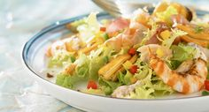 Menu léger : platVoir la recette de laSalade océane >>